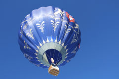 Hot Air Balloon Festival in Tannheimer Tal, Europe Stock Images