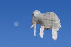 Hot-air balloon festival in Taunggyi, Myanmar (Burma) Royalty Free Stock Photo