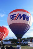 Hot Air Balloon Festival, Waterford, WI  July 15, 2016 Royalty Free Stock Image