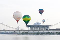 Hot Air Balloon Fiesta 2012 in Putrajaya, Malaysia Stock Photo