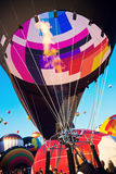 Hot Air Balloon Fiesta in Albuquerque, New Mexico Royalty Free Stock Photos