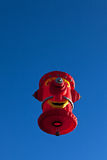 Hot air balloon  fire plug Royalty Free Stock Image