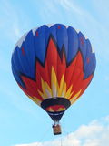Hot air balloon at the the first festival of aeronautics Moscow Sky (Moskovskoe Nebo), Moscow. August, 2014. Stock Photo