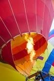 Hot Air Balloon Flame Stock Photo