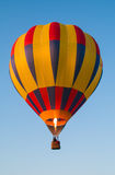 Hot air balloon with flame Royalty Free Stock Photos