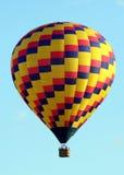Hot Air Balloon in Flight Royalty Free Stock Photo