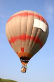 Hot air balloon in flight Royalty Free Stock Photo