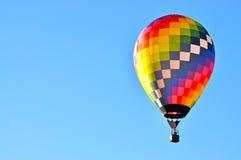 Hot air balloon. In flight Stock Photos
