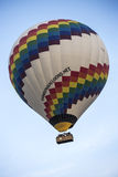 Hot air balloon flight in Cappadocia, Turkey. Royalty Free Stock Images