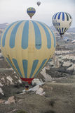 Hot air balloon flight in Cappadocia, Turkey. Stock Images
