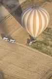 Hot air balloon flight in Cappadocia, Turkey. Stock Photos