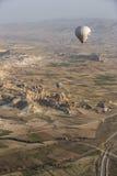 Hot air balloon flight in Cappadocia, Turkey. Stock Photography