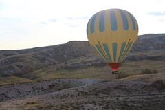 Hot air balloon fly Stock Image