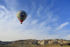 Hot air balloon fly Stock Photography