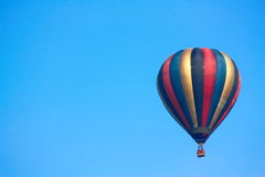 Hot air balloon flying Stock Photography