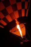 Hot air balloon flying 4 royalty free stock photography