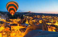 Hot Air Balloon flying Cappadocia Turkey Royalty Free Stock Image