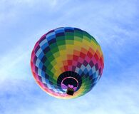 Hot Air Balloon Flying Under Blue Sky during Daytime Stock Photos