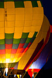 Hot Air Balloon Glow Stock Image