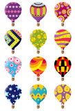 Hot air balloon icon Stock Photography