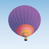 Hot air balloon illustration Stock Image