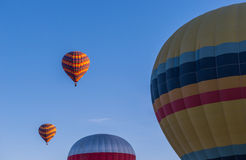 Hot Air Balloon In Morning Stock Images