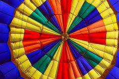 Hot air balloon inside Stock Photo