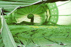 Green Hot Air Balloon Interior Stock Photography