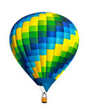 Hot air balloon isolated Royalty Free Stock Photography