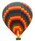 Hot Air Balloon Isolated On White Royalty Free Stock Images