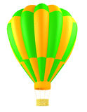 Hot air balloon isolated Stock Photography