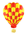 Hot air balloon isolated Stock Images