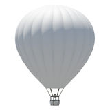 Hot air balloon. Isolated on the white background Stock Image