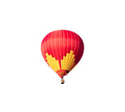 Hot air balloon isolated. On white background Royalty Free Stock Images