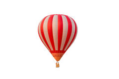 Hot air balloon. Isolated on white background Royalty Free Stock Photography