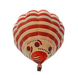 Hot air balloon isolated white background Stock Image
