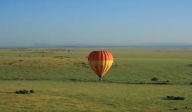 Hot air balloon in Kenya Royalty Free Stock Photo