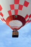 Hot air balloon launch Stock Photo