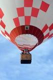 Hot air balloon launch Stock Photo