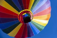 A Hot Air Balloon Launch At A Local Festival royalty free stock photos