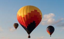 Hot Air Balloon Liftoff Stock Photos