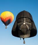 Darth Vadar Hot Air Balloon Liftoff Royalty Free Stock Photography