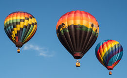 Hot Air Balloon Liftoff Royalty Free Stock Photography