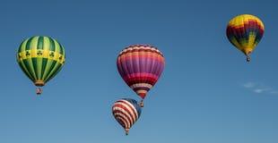 Hot Air Balloon Liftoff Royalty Free Stock Images