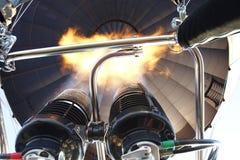 Hot air balloon lighter Stock Photography