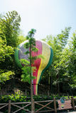 Hot air balloon model Royalty Free Stock Image