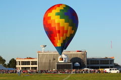 Hot air balloon at NASA Royalty Free Stock Photos