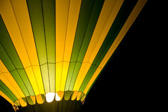 Hot Air Balloon at Night Royalty Free Stock Photos