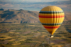 Hot Air Balloon Over Cappadocia Royalty Free Stock Images