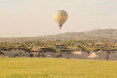 Hot air balloon over Cappadocia, Turkey Stock Photography